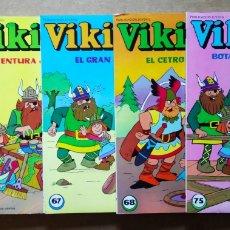 Tebeos: LOTE VIKIE: EL VIKINGO DE LA TELE. NÚMEROS 53-61-62-63-64-67 (EDICIONES RECREATIVAS, 1982).. Lote 138770080