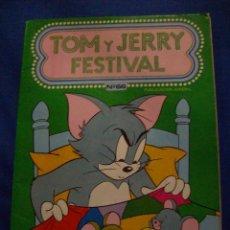 Tebeos: TOM Y JERRY FESTIVAL Nº 66 EDICIONES RECREATIVAS ERSA. Lote 184028422