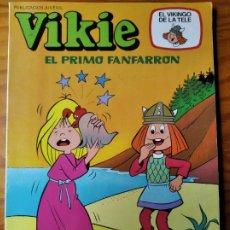 Tebeos: VIKIE EL VIKINGO DE LA TELE - TOMO, EL PRIMO FANFARRON - ERSA Nº 73 -. Lote 187184185