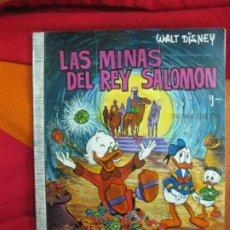 Tebeos: LAS MINAS DEL REY SALOMON. . COLECCION Nº 37 DUMBO. EDICIONES RECREATIVAS E.R.S.A. 1971. Lote 187423101