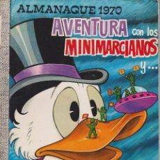 Tebeos: DUMBO Nº 58 AVENTURA CON LOS MARCIANOS. ALMANAQUE 1970. Lote 189738300