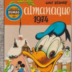 Tebeos: DUMBO Nº 107 ALMANAQUE 1974 . Lote 189738888