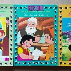 Tebeos: LOTE HEIDI: NÚMEROS 9-10-11-27-33 (EDICIONES RECREATIVAS, 1976-1978).. Lote 191067461