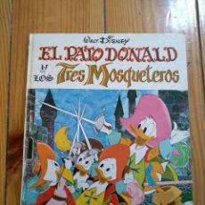 Tebeos: EL PATO DONALD Y LOS TRES MOSQUETEROS - COLECCIÓN JAJA Nº 1 - BUEN ESTADO. Lote 191571331
