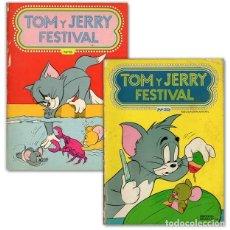 Tebeos: TOM Y JERRY FESTIVAL 6 Y 35. Lote 194183275