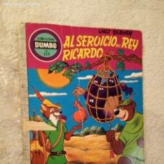 Tebeos: COMIC DUMBO ERSA DISNEY 133 AL SERVICIO DEL REY RICARDO. Lote 194338601