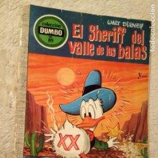 Tebeos: COMIC DUMBO ERSA DISNEY 89 EL SHERIFF DEL VALLE DE LAS BALAS CON EL CUPON. Lote 194376440