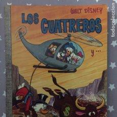 Tebeos: LOS CUATREROS, WALT DISNEY, COLECCION DUMBO 31 1 EDICION. Lote 194905322