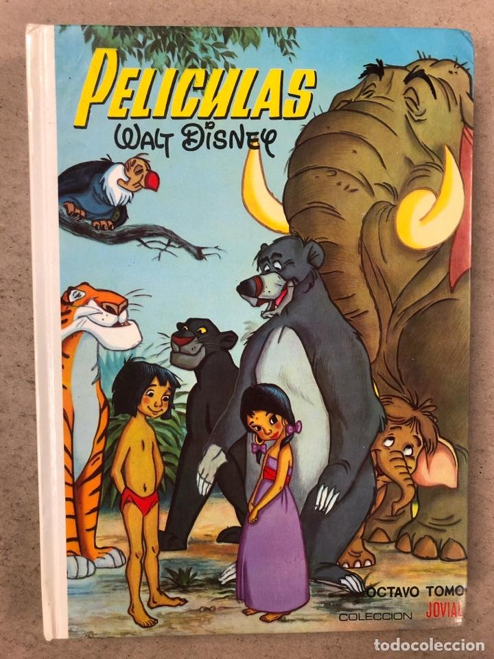 PELÍCULAS WALT DISNEY TOMO 8. COLECCIÓN JOVIAL. ERSA 1982. (Tebeos y Comics - Ersa)