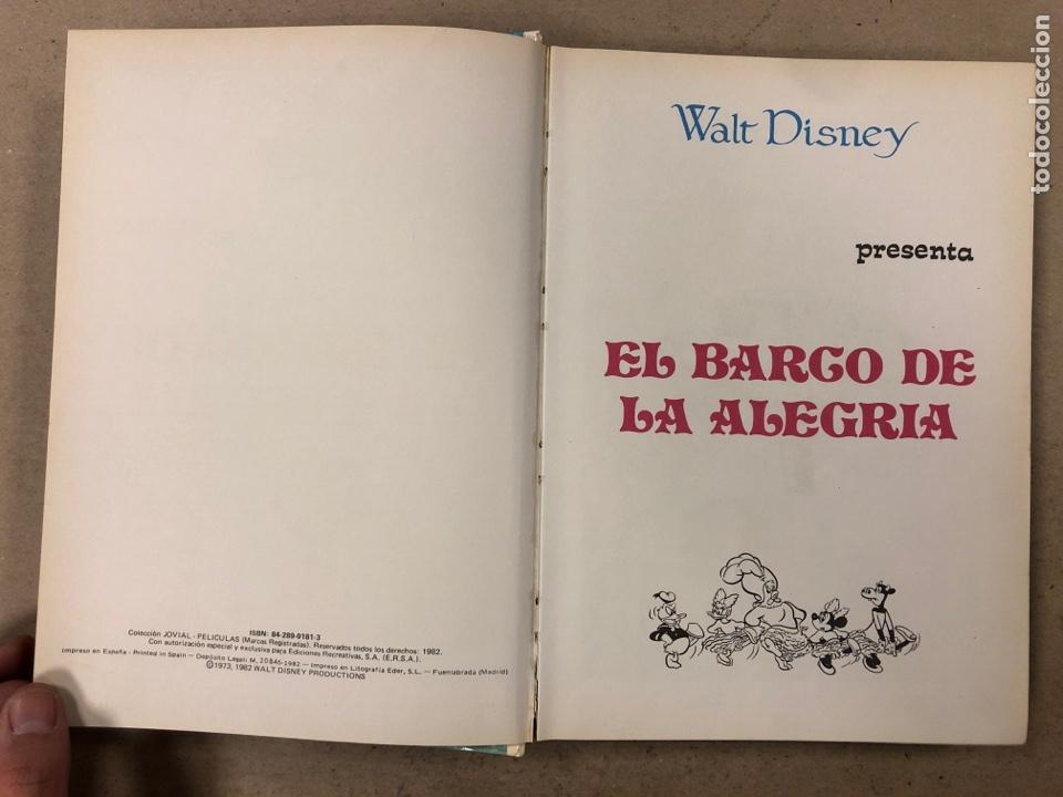 Tebeos: PELÍCULAS WALT DISNEY TOMO 22. COLECCIÓN JOVIAL. ERSA 1982. - Foto 3 - 195271951