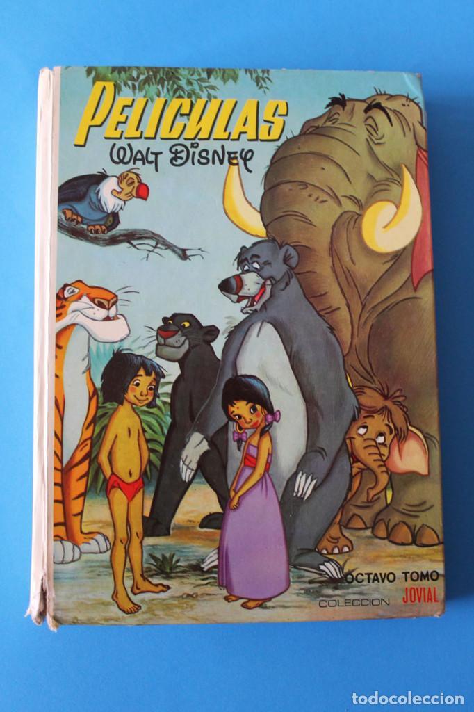 PELÍCULAS WALT DISNEY - Nº8 - COLECCIÓN JOVIAL - OCTAVO TOMO (Tebeos y Comics - Ersa)