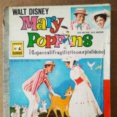 Tebeos: COLECCIÓN DUMBO N°4: MARY POPPINS. VERSIÓN COMPLETA DE LA PELICULA. (ERSA, 1969). WALT DISNEY.. Lote 195392635