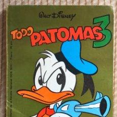 Tebeos: PATOMAS N•3 ULTIMO. Lote 195482717