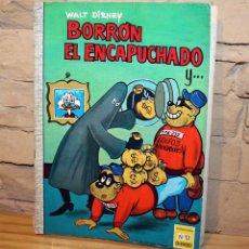 Tebeos: BORRON EL ENCAPUCHADO - COLECCION DUMBO - Nº12 - WALT DISNEY. Lote 195500181