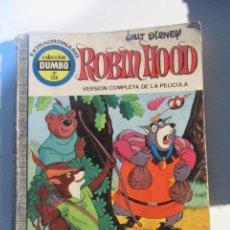 Giornalini: DUMBO . Nº 126. ROBIN HOOD. EDICIONES RECREATIVAS. 1975 CX44. Lote 195543992