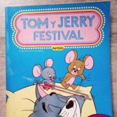 Tebeos: TOM Y JERRY FESTIVAL Nº 59 EDICIONES RECREATIVAS 1982. Lote 196142105