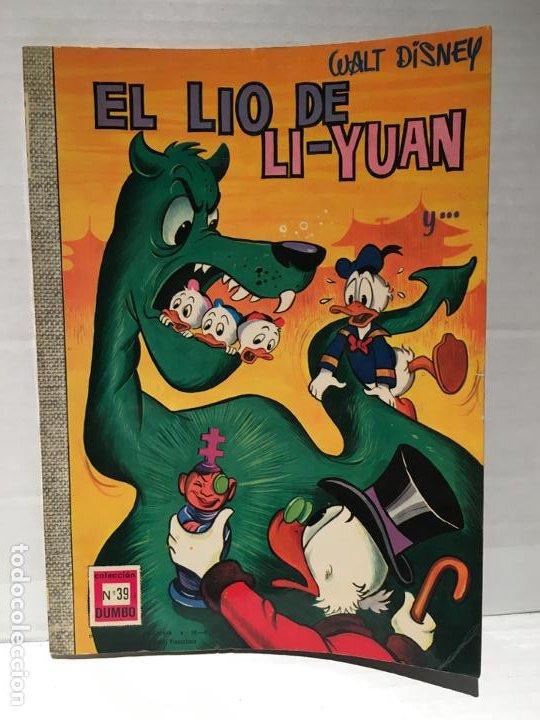 WALT DISNEY - COLECCIÓN DUMBO N.º 39 PRIMERA EDICIÓN - EL LIO DE LI-YUAN AÑO 1968 (Tebeos y Comics - Ersa)