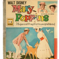 Tebeos: DUMBO. Nº 4. MARY POPPINS. WALT DISNEY. SUPERCALIFRAGILISTICOEXPIALIDOSO. ERSA, 1966(P/B3). Lote 198429426