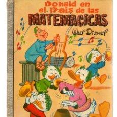 Tebeos: DUMBO. Nº 6. DONALD EN EL PAÍS DE LAS MATEMÁGICAS. WALT DISNEY. ERSA, 1973. (P/B3). Lote 198430070