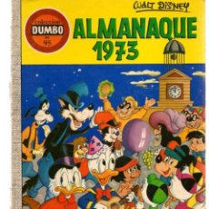 Tebeos: DUMBO. Nº 95. ALMANAQUE 1973. WALT DISNEY. ERSA, 1972. (P/B3). Lote 198430596