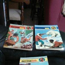 Tebeos: GEYPERMAN COMIC LOTE DE 3 NÚMEROS. Lote 198668000
