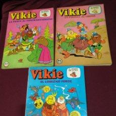 Tebeos: VIKIE EL VIKINGO, NUMEROS 15, 76 Y 77, EDICIONES RECREATIVAS.. Lote 200325055