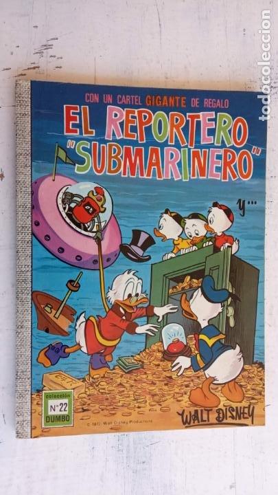 Tebeos: DUMBO ERSA - LOTE 101 Nºs INCLUYE 5 ALAMANAQUES, VER TODAS LAS PORTADAS UNA A UNA Y CONTRAPORTADAS - Foto 54 - 200380393