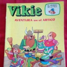 Tebeos: VIKIE Nº 63 - AVENTURA EN EL ARTICO - EL VIKINGO DE LA TELE - MUY BUEN ESTADO GENERAL. Lote 201337241