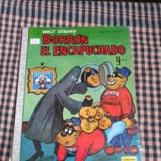 Tebeos: BORRÓN EL ENCAPUCHADO, COLECCIÓN DUMBO. N.° 12, WALT DISNEY.. Lote 201955040