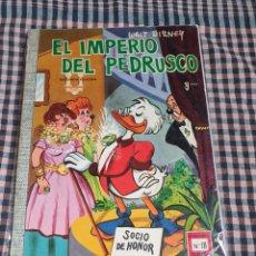 Tebeos: EL IMPERIO DEL PEDRUSCO, COLECCIÓN DUMBO. N.° 18, WALT DISNEY.. Lote 201955397