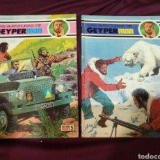 Tebeos: LAS AVENTURAS DE GEYPERMAN, N°5 Y 6 1979 EDICIONES RECREATIVAS. Lote 201957691