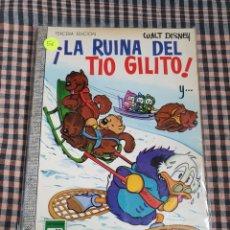 Tebeos: ¡LA RUINA DEL TÍO GILITO!, COLECCIÓN DUMBO. N.° 26, WALT DISNEY.. Lote 201960257