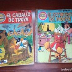 Tebeos: COMIC DUMBO ERSA 127 Y 123 EL ESTRECHO DEL PIRATA Y EL CABALLO DE TROYA 2 COMICS. Lote 203348638