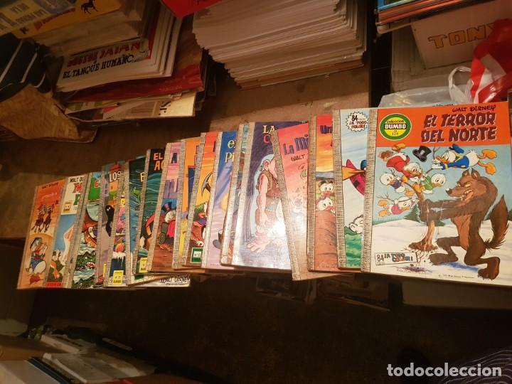Tebeos: GRAN LOTE 41 TEBEOS / CÓMIC DUMBO ¡LEER ENVÍO! ERSA N 1 AL 100-120 WALT DISNEY 1967 CON ALMANAQUES - Foto 10 - 204256963