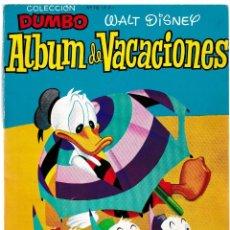 Tebeos: COLECCIÓN DUMBO - ALBUM DE VACACIONES - WALT DISNEY 1957. Lote 204509508