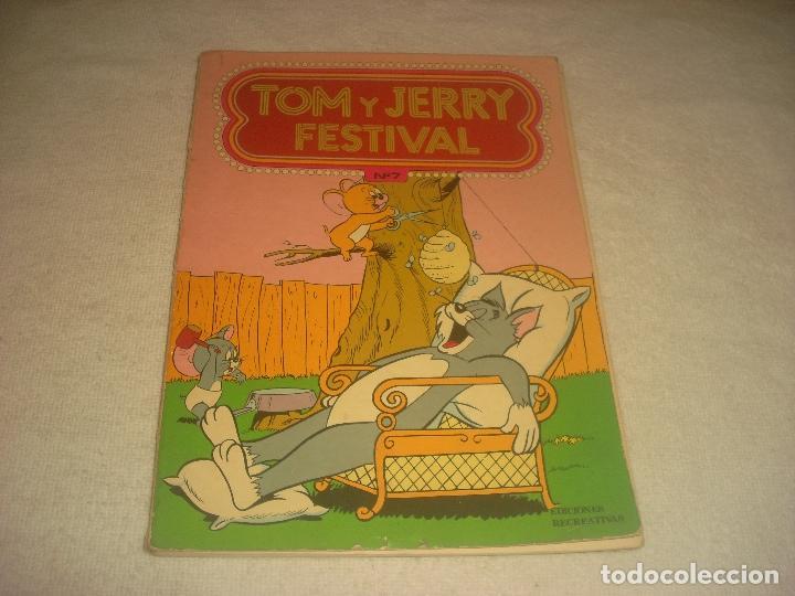 TOM Y JERRY FESTIVAL N. 7 . 1978. (Tebeos y Comics - Ersa)