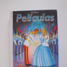BDs: PELÍCULAS TOMO 2 - WALT DISNEY - COLECCIÓN JOVEN - LA CENICIENTA, ETC. - EDITORIAL PRIMAVERA - 1991. Lote 205181261