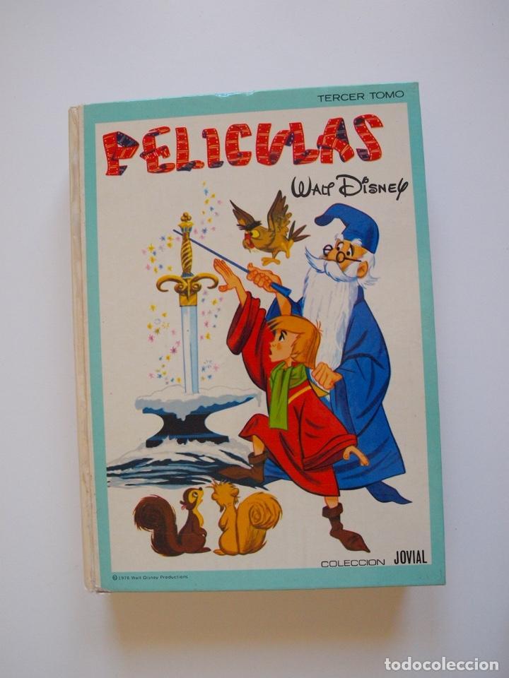 PELÍCULAS TOMO III - COLECCIÓN JOVIAL Nº 3 - WALT DISNEY - EDICIONES RECREATIVAS E.R.S.A. - 1978 (Tebeos y Comics - Ersa)
