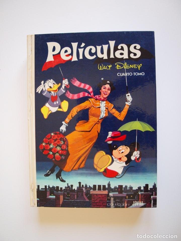 PELÍCULAS TOMO IV - COLECCIÓN JOVIAL Nº 4 - WALT DISNEY - EDICIONES RECREATIVAS E.R.S.A. - 1977 (Tebeos y Comics - Ersa)