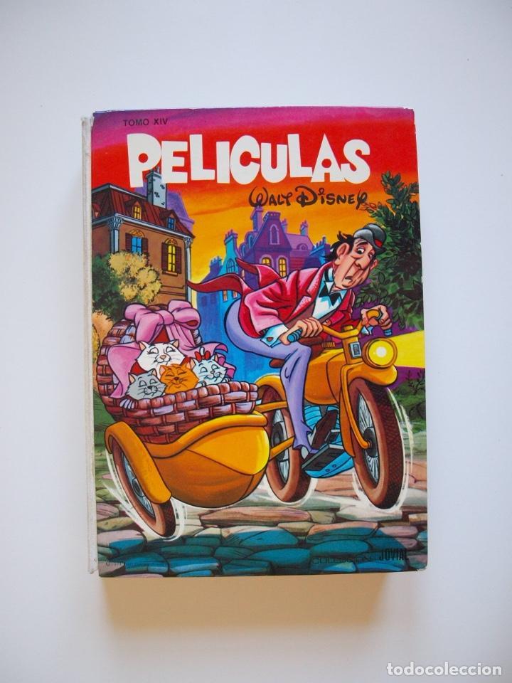Tebeos: PELÍCULAS TOMO XIV - COLECCIÓN JOVIAL Nº 14 - WALT DISNEY - ED. RECREATIVAS E.R.S.A. 1971 - CON CAJA - Foto 2 - 205321807