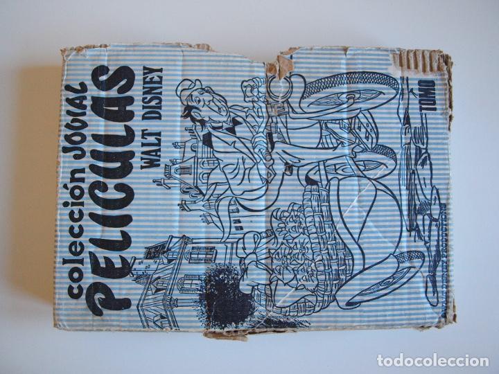 Tebeos: PELÍCULAS TOMO XIV - COLECCIÓN JOVIAL Nº 14 - WALT DISNEY - ED. RECREATIVAS E.R.S.A. 1971 - CON CAJA - Foto 18 - 205321807