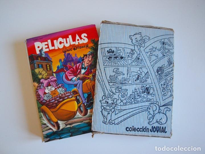 PELÍCULAS TOMO XIV - COLECCIÓN JOVIAL Nº 14 - WALT DISNEY - ED. RECREATIVAS E.R.S.A. 1971 - CON CAJA (Tebeos y Comics - Ersa)