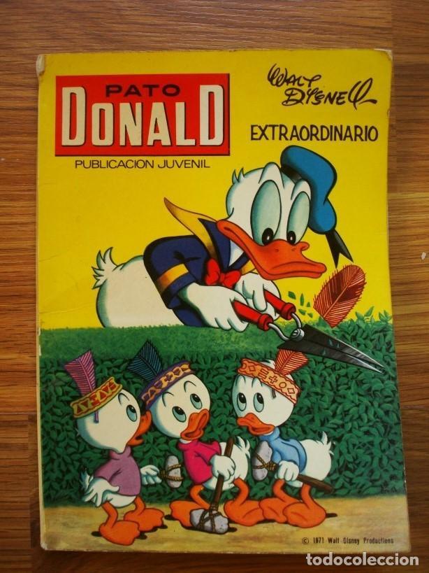 PATO DONALD EXTRAORDINARIO PRIMAVERA 1971 (EDICIONES RECREATIVAS ERSA) (Tebeos y Comics - Ersa)