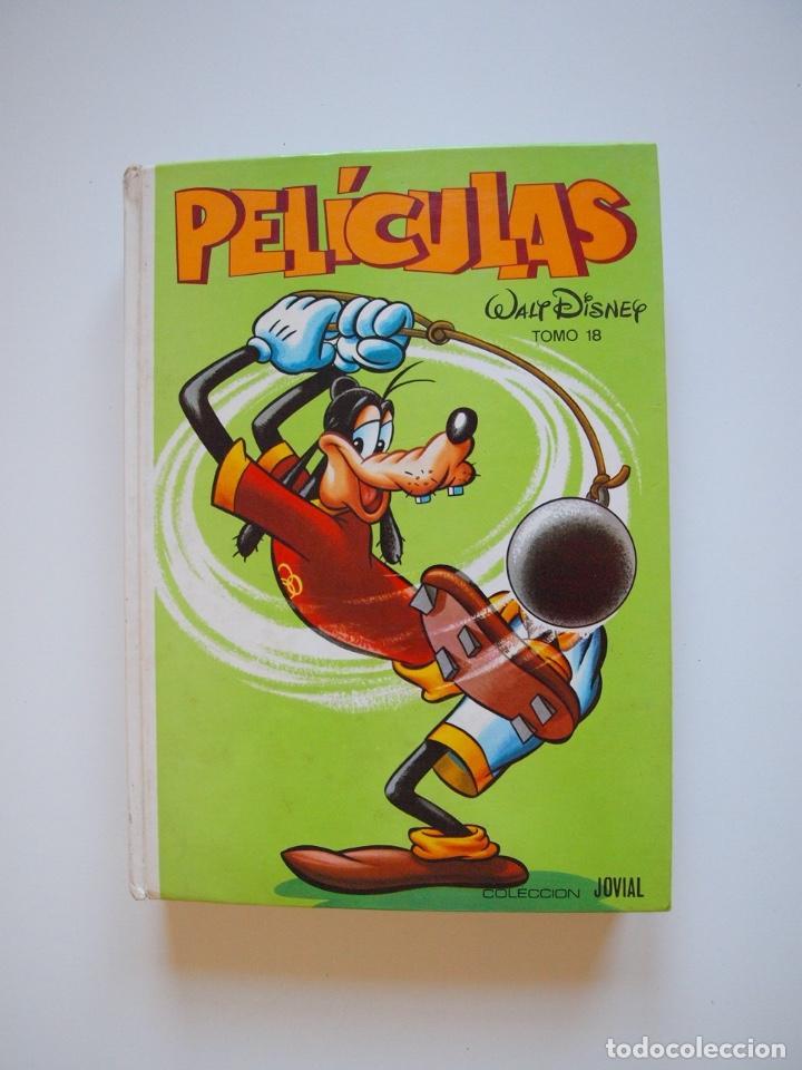 PELÍCULAS WALT DISNEY - TOMO 18 - COLECCIÓN JOVIAL - EDICIONES RECREATIVAS E.R.S.A. 1982 (Tebeos y Comics - Ersa)