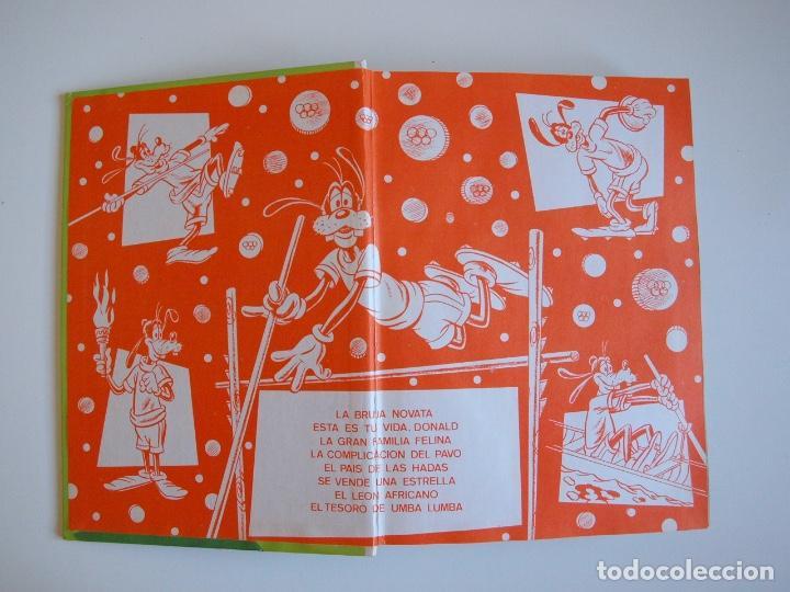 Tebeos: PELÍCULAS WALT DISNEY - TOMO 18 - COLECCIÓN JOVIAL - EDICIONES RECREATIVAS E.R.S.A. 1982 - Foto 2 - 205511447