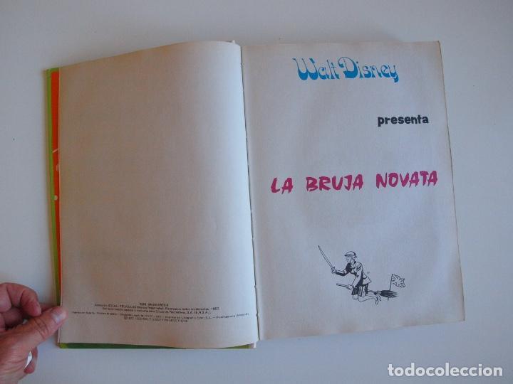 Tebeos: PELÍCULAS WALT DISNEY - TOMO 18 - COLECCIÓN JOVIAL - EDICIONES RECREATIVAS E.R.S.A. 1982 - Foto 3 - 205511447