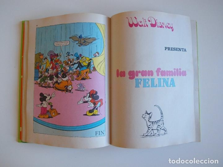 Tebeos: PELÍCULAS WALT DISNEY - TOMO 18 - COLECCIÓN JOVIAL - EDICIONES RECREATIVAS E.R.S.A. 1982 - Foto 5 - 205511447