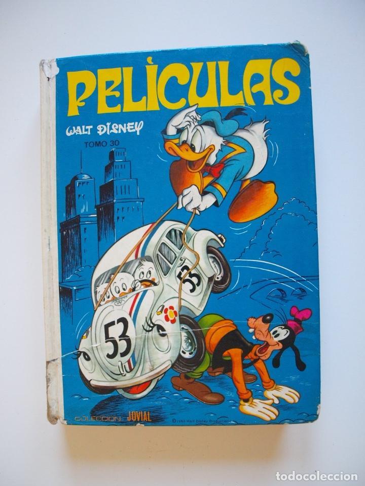 PELÍCULAS WALT DISNEY - TOMO 30 - COLECCIÓN JOVIAL Nº 24 - ED. RECREATIVAS E.R.S.A. 1980 (Tebeos y Comics - Ersa)