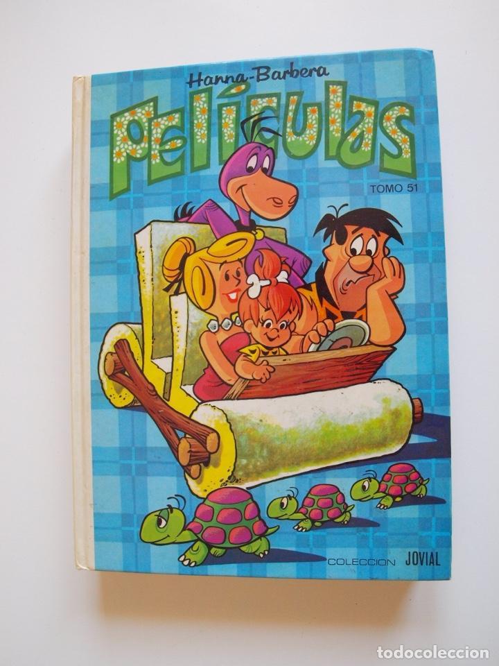 PELÍCULAS HANNA-BARBERA TOMO 51 - COLECCIÓN JOVIAL - EDICIONES RECREATIVAS E.R.S.A. 1ª ED. 1981 (Tebeos y Comics - Ersa)