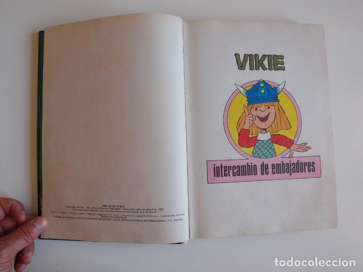Tebeos: PELÍCULAS VIKIE TOMO 53 - COLECCIÓN JOVIAL - EDICIONES RECREATIVAS E.R.S.A. 1ª ED. 1982 - Foto 3 - 205519268